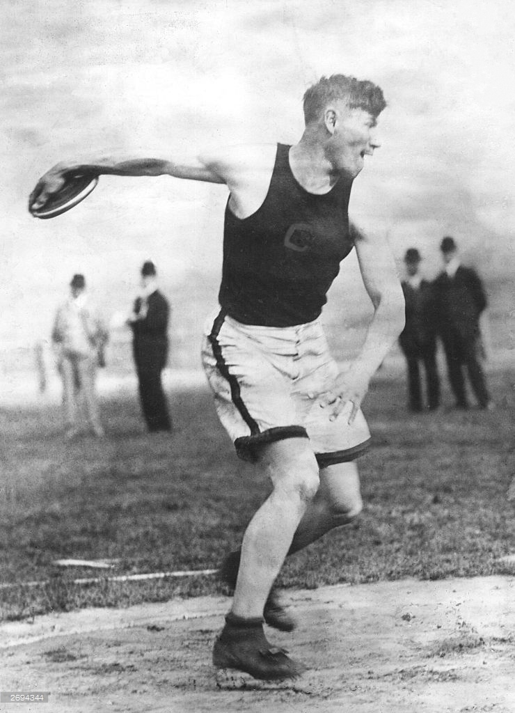 Jim Thorpe, Olympic gold medalist in the decathlon, 1912