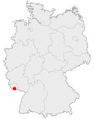 Saarbrücken i Tyskland
