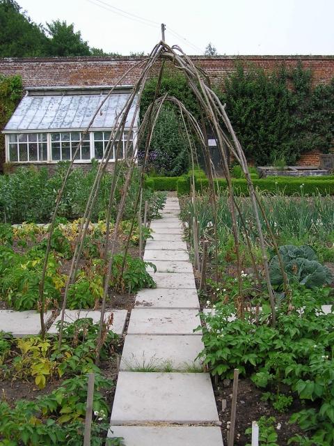 Backyard garden ideas - Description Kitchen Garden Intwood Hall Geograph Org Uk 232227