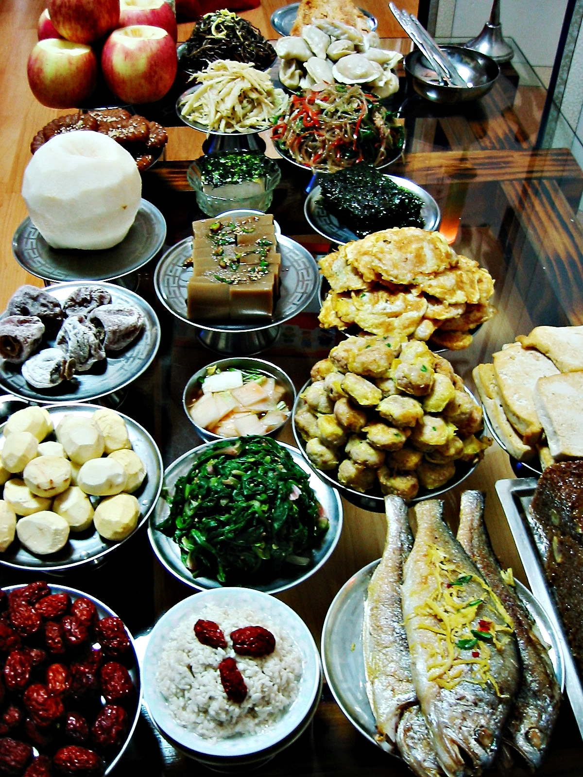 Wikimedia commons for Cuisine korean