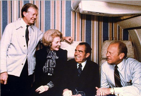 nixon and ford relationship
