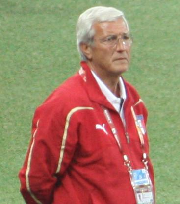 Lippi during the 2010 World Cup. Lippi nelspruit.jpg