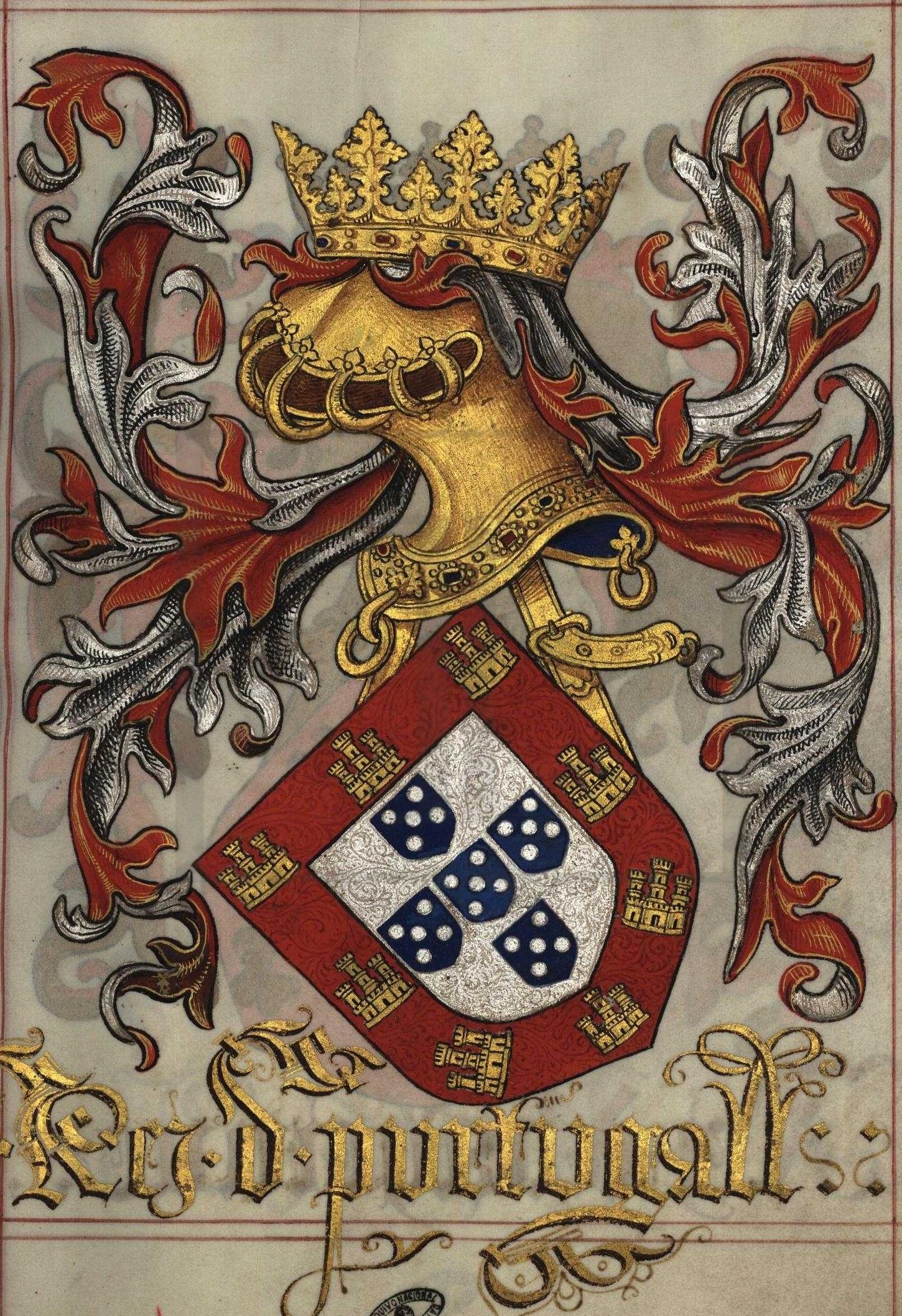 Resultado de imagem para escudo d.manuel