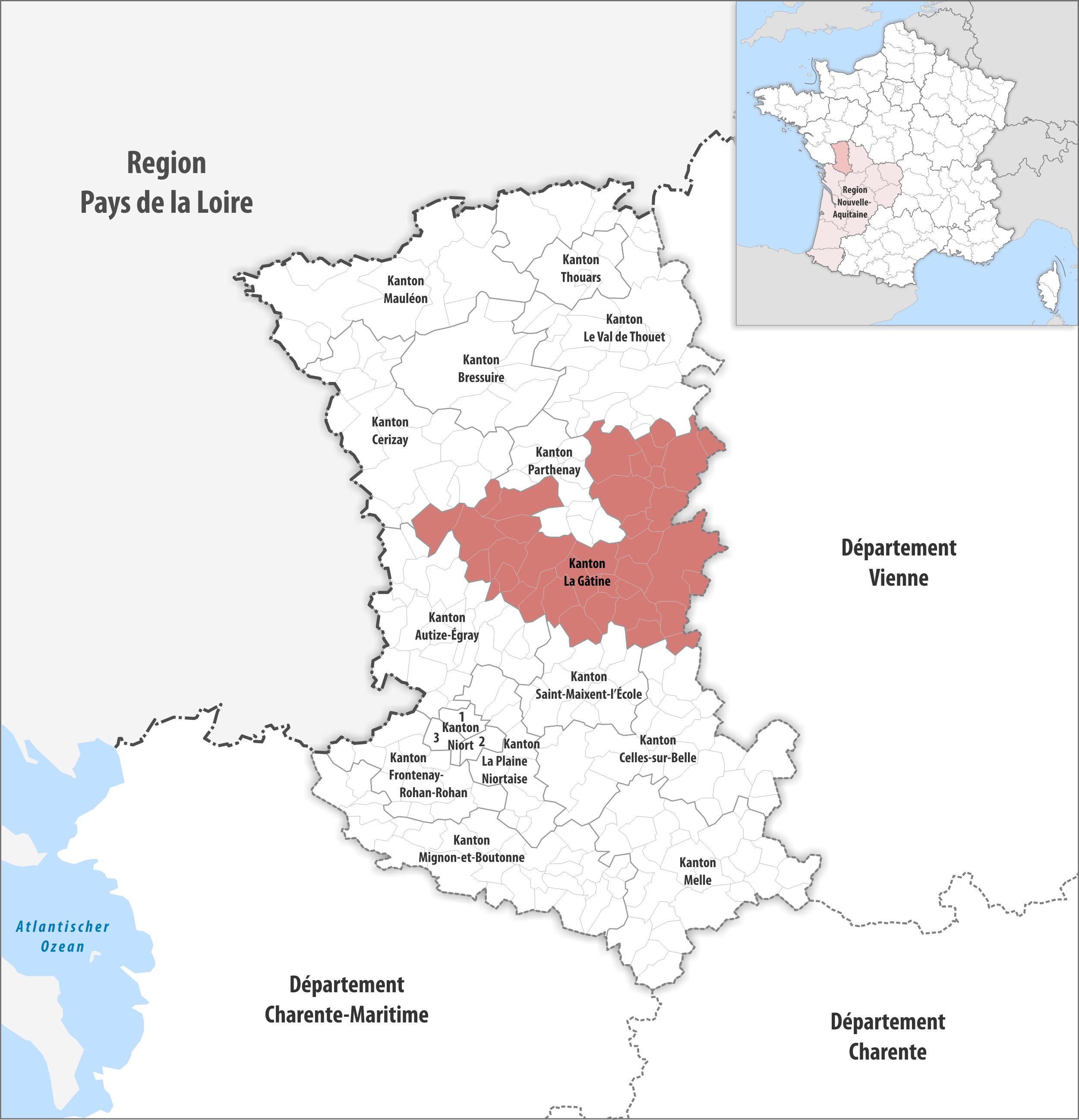 Kanton La Gâtine – Wikipedia