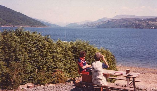 Loch Long from the Ardentinny Hotel - geograph.org.uk - 144129