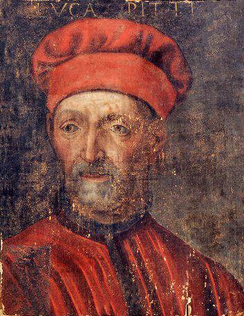 Luca Pitti ritratto della metà del XVI secolo, Kursk, Museo d'arte Dejneka