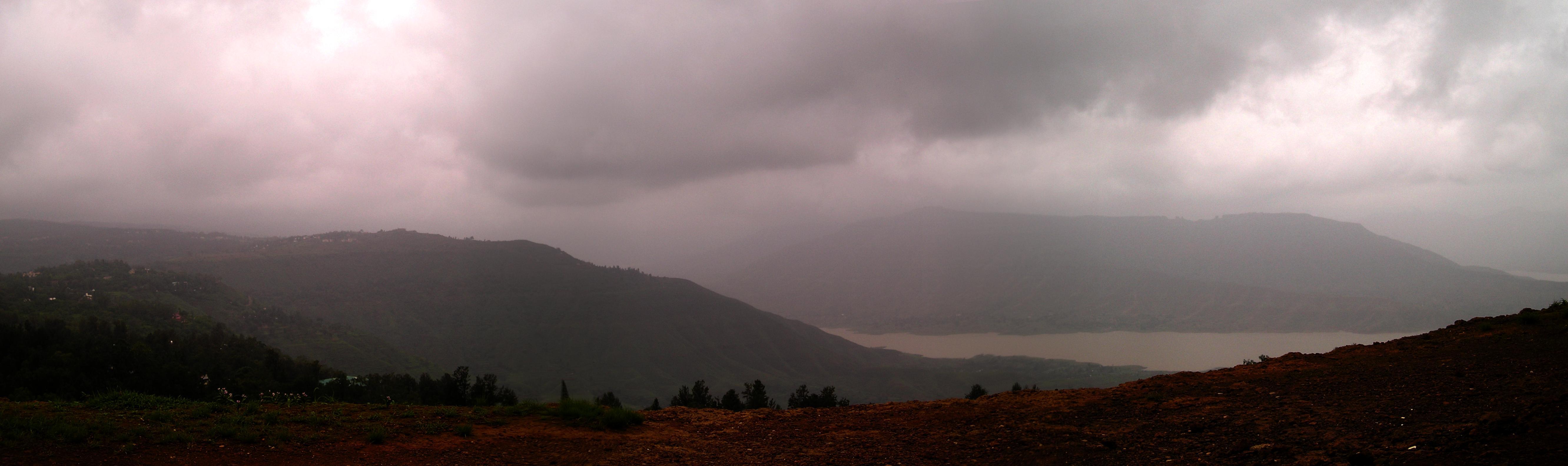 Panoramic view of Mahabaleshwar