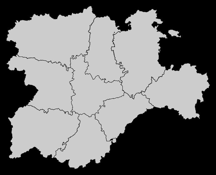 Mapa Castilla Y León.File Mapa Base De Castilla Y Leon Png Wikimedia Commons