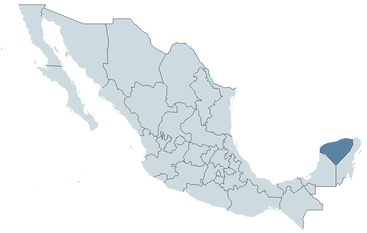 Icono Mapa Mexico Png: Yucatán