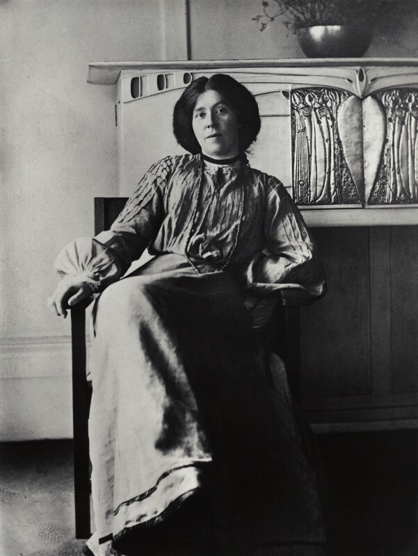 image of Margaret Macdonald Mackintosh from wikipedia