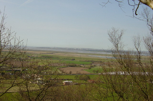 Mersey Estuary from Frodsham Hill - geograph.org.uk - 37120