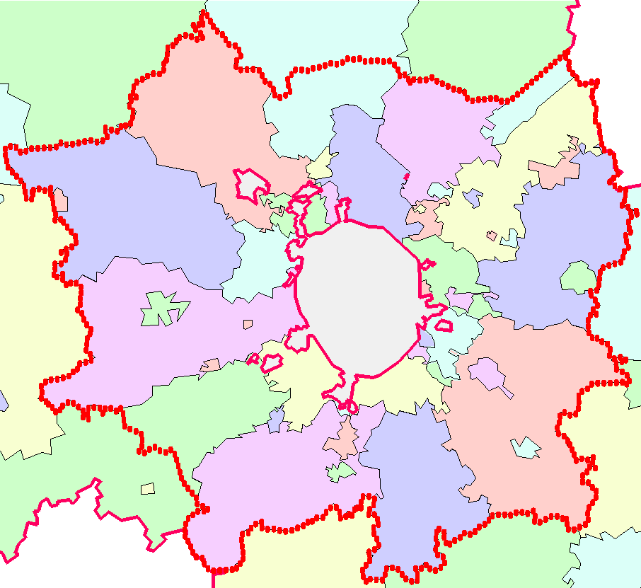 Пригородная зона Москвы