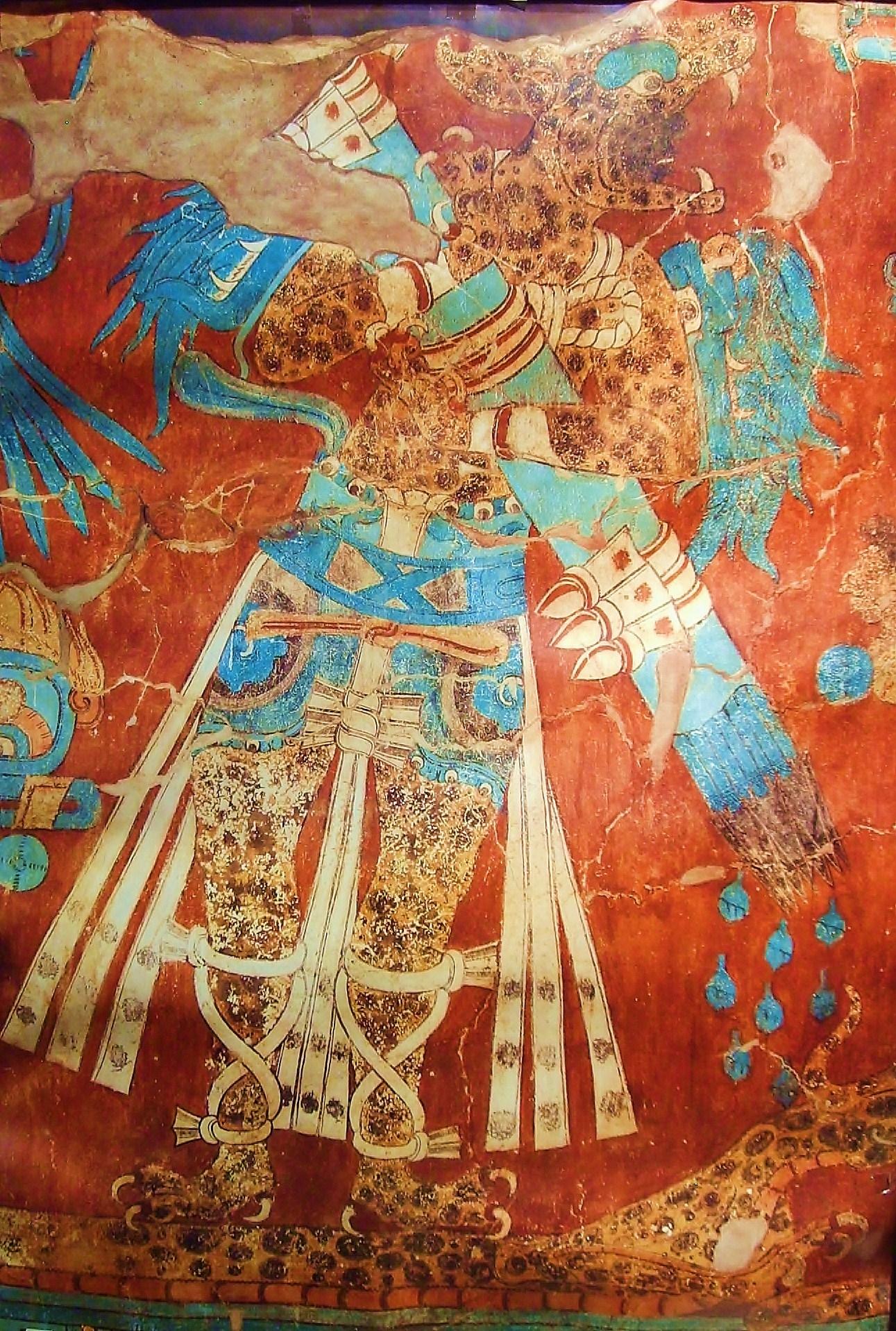 Cacaxtla Murals