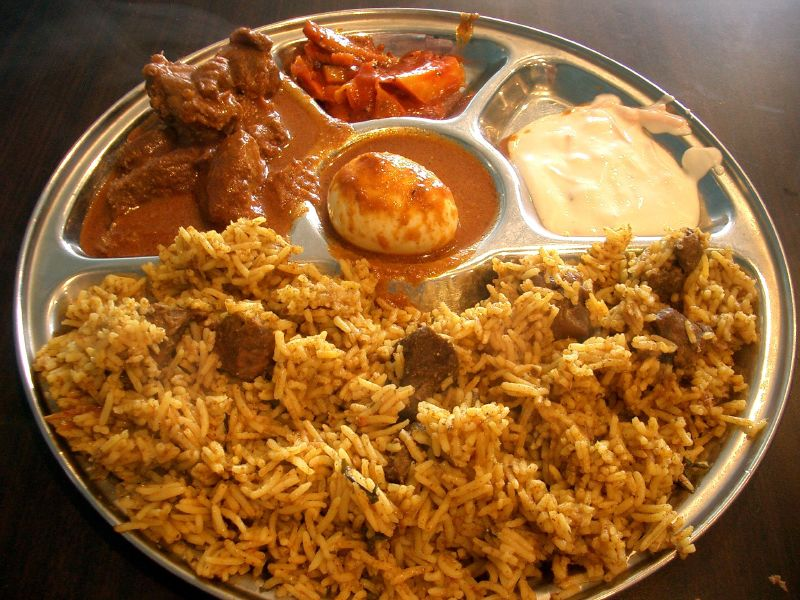 File mutton biriyani rich maha vermont south 184564933 for Andhra cuisine history