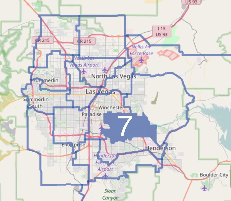 Nevada Revised Statutes >> Nevada Senate, District 7 - Wikipedia