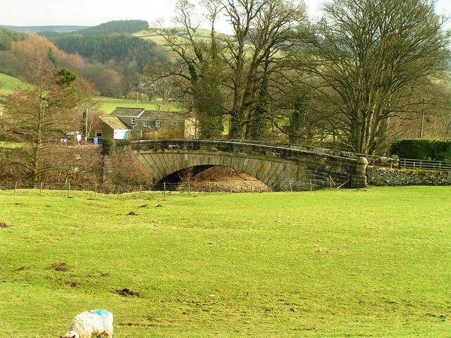 Nidd Bridge, Ramsgill from Nidderdale Way - geograph.org.uk - 1202429