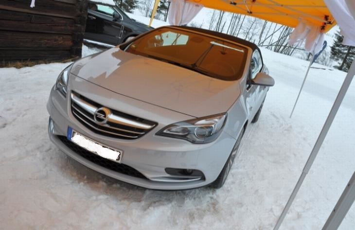Illustration : OPEL - CASCADA 2.0 CDTI 170 COSMO PACK