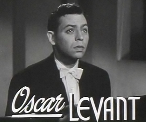 Portrait of Oscar Levant