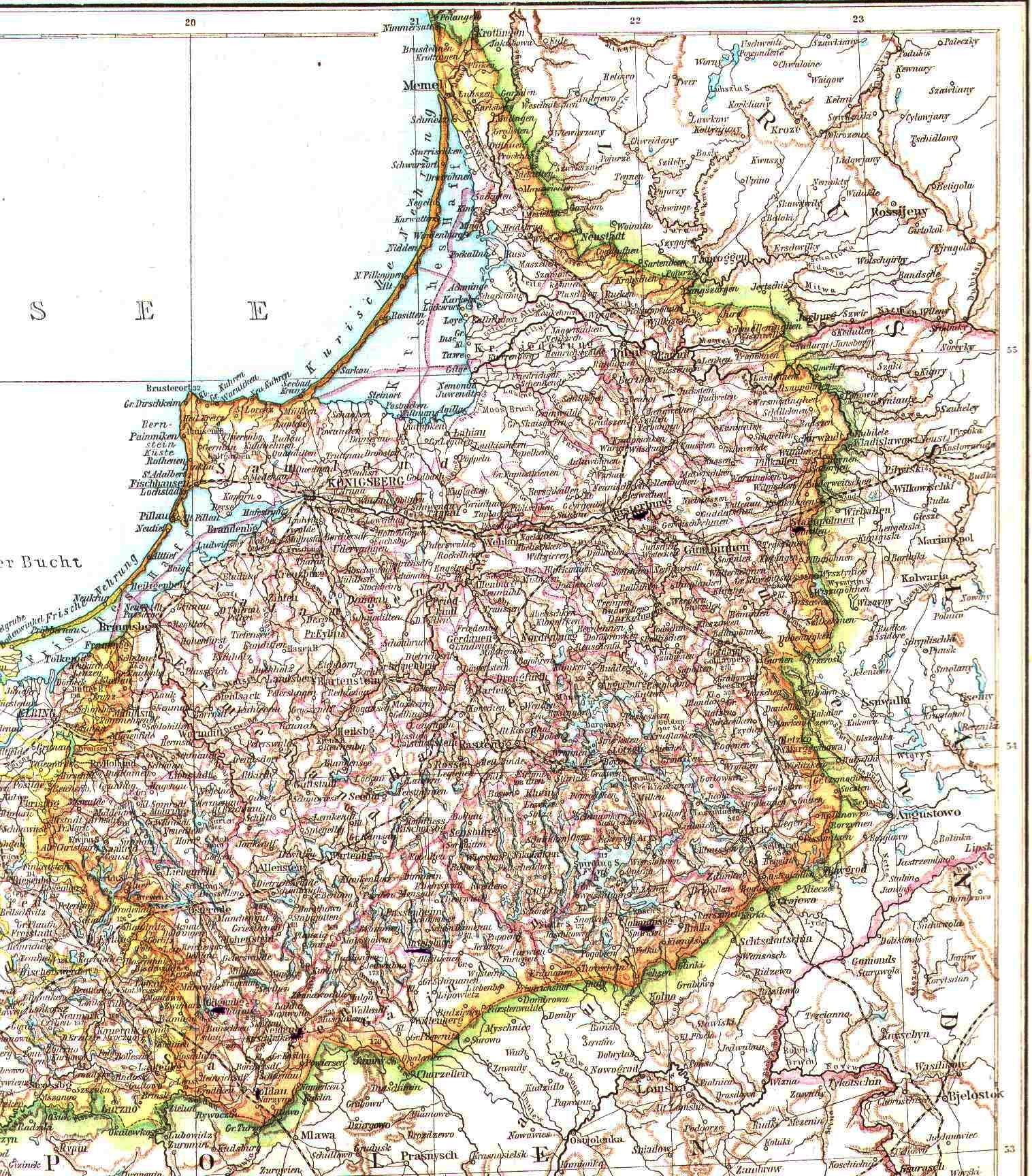 Bekjente Brandenburg