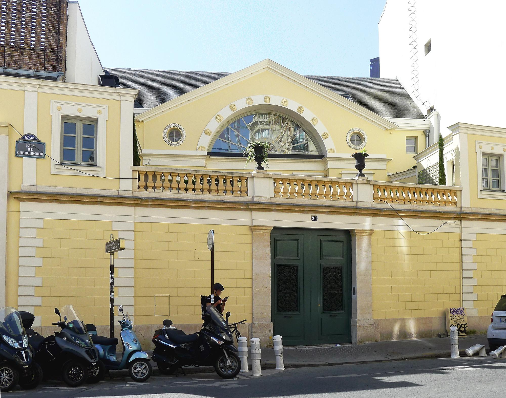 File p1120059 paris vi rue du cherche midi n 95 rwk jpg for Cherche hotel