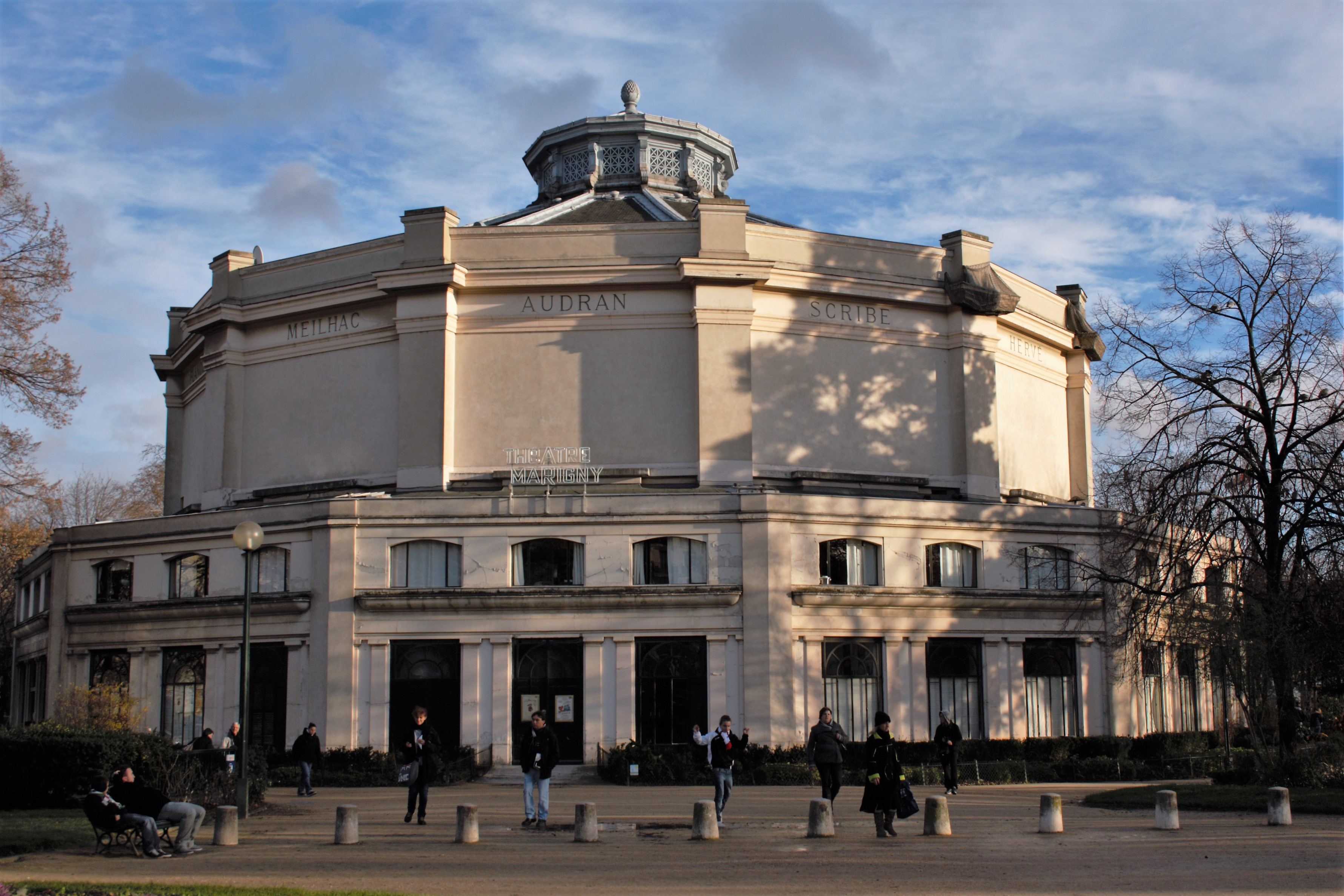 Image result for theatre marigny