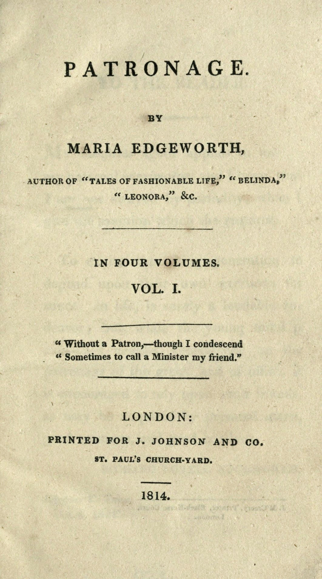 belinda edgeworth