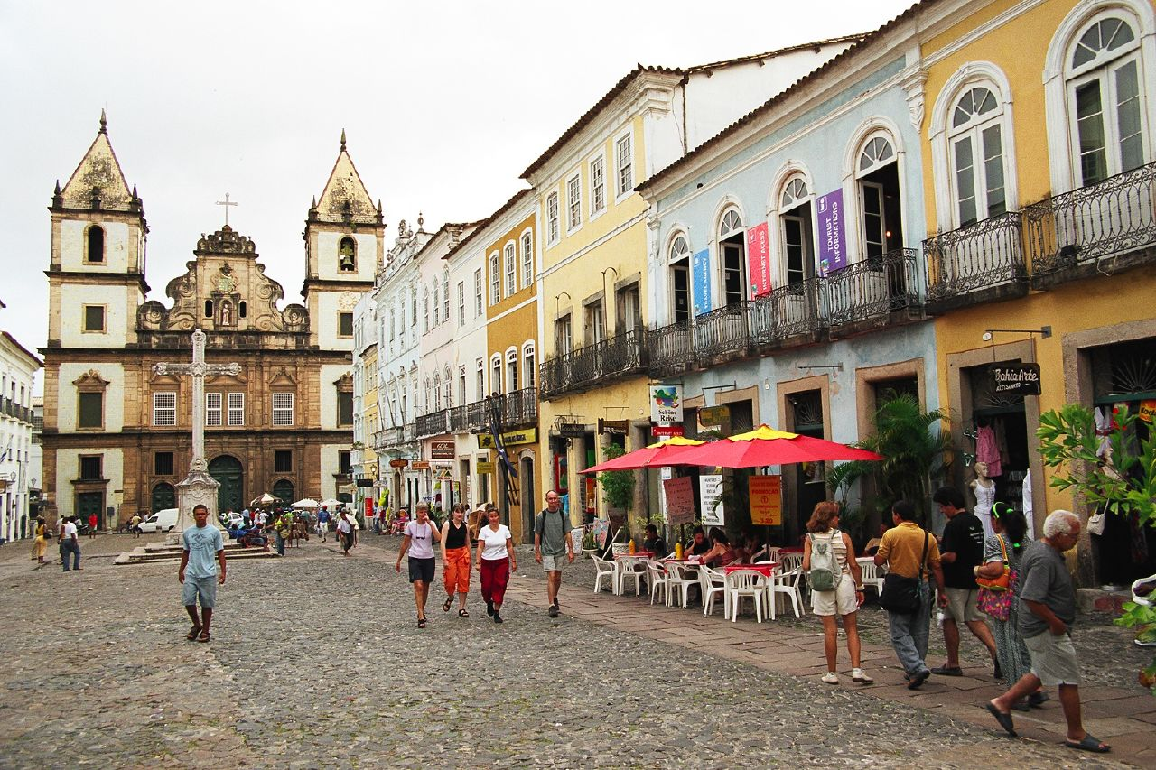 Salvador, Candombles ancient home in Brazil