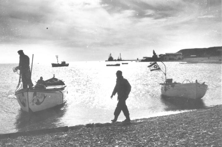 הכנרת בשנת 1950