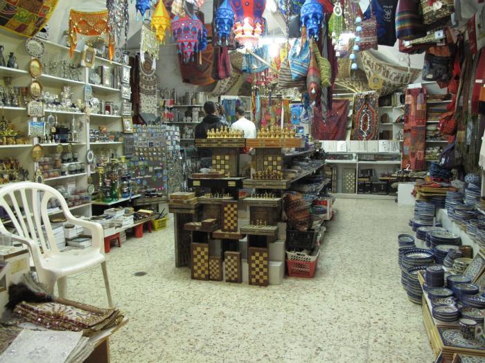 חנות בשוק העיר העתיקה