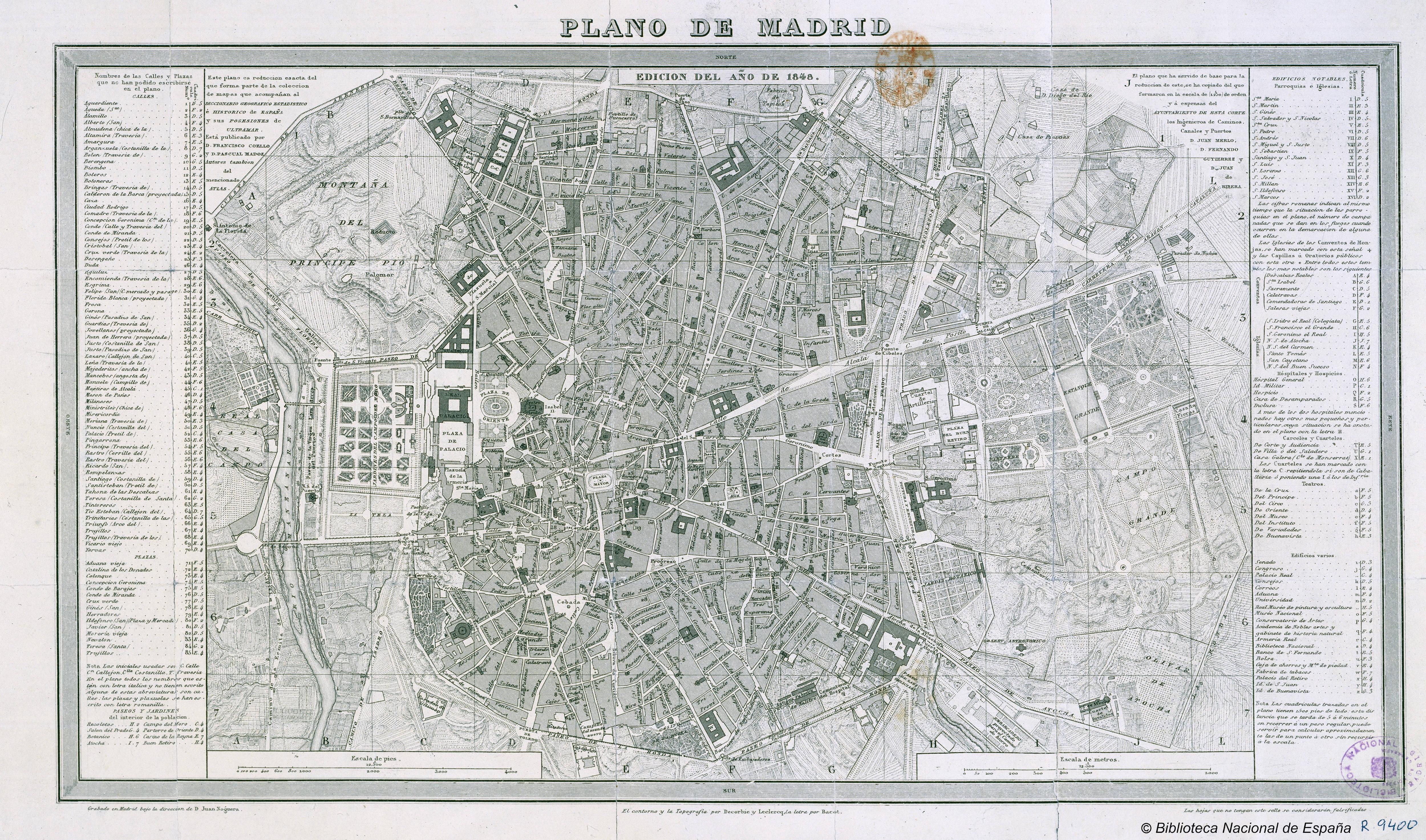 Tiempos de Retratos Plano_de_Madrid%2C_1848%2C_de_Francisco_Coello