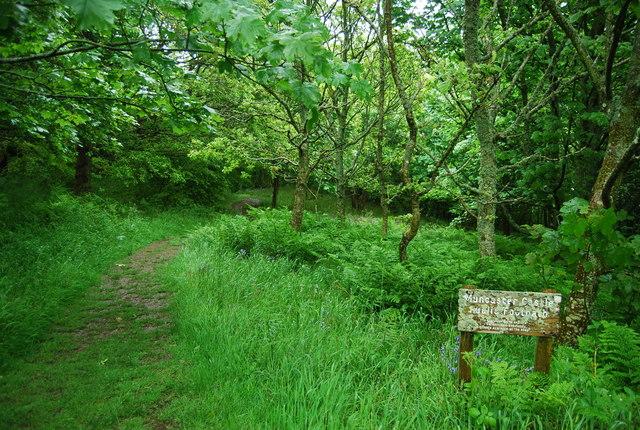 Public Footpath through Muncaster Castle Estate - geograph.org.uk - 1335638