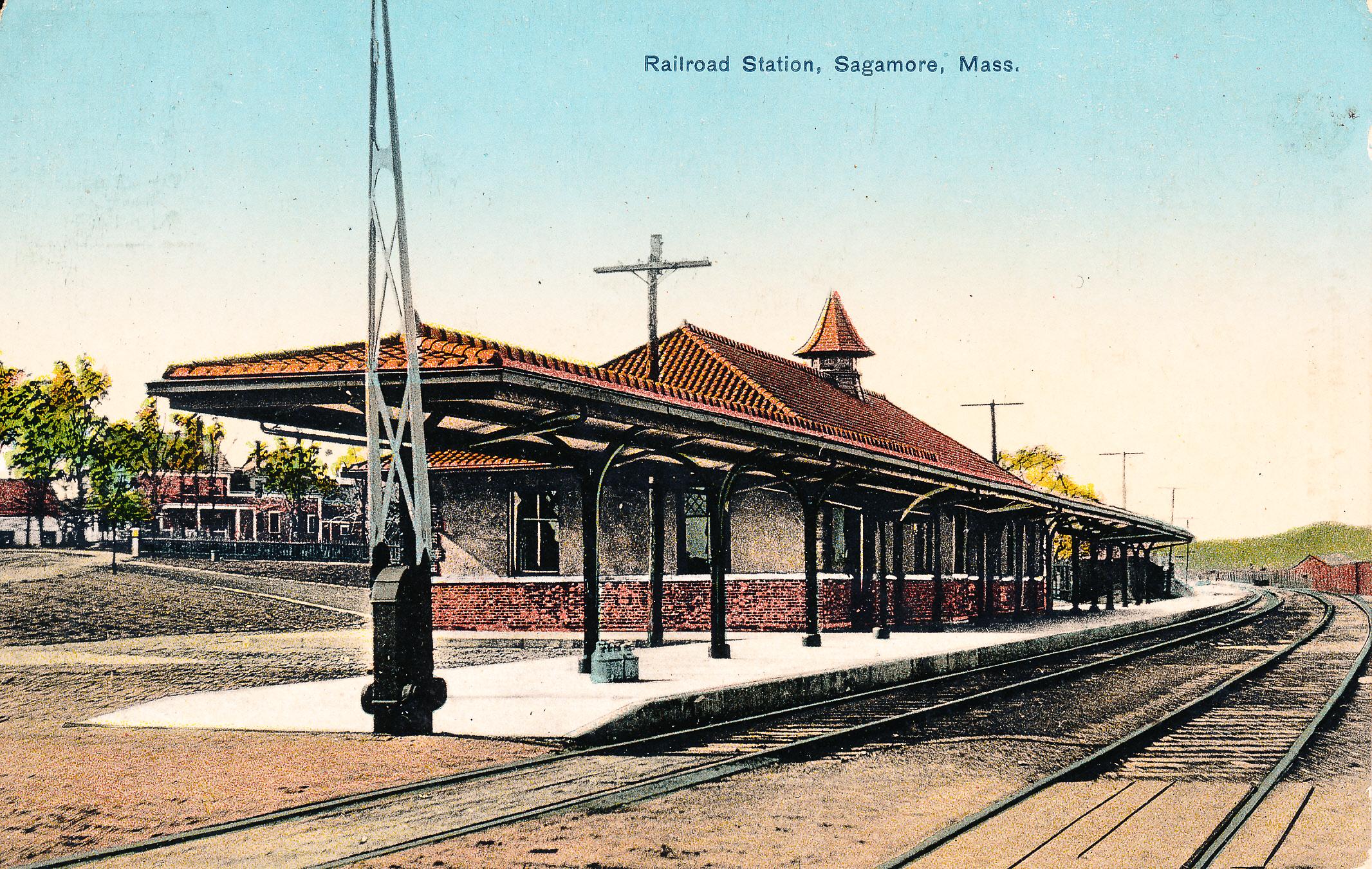File:Railroad Station, Sagamore Mass.jpg - Wikimedia Commons