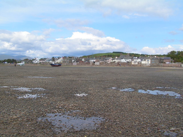 Ravenglass at Low tide - geograph.org.uk - 455419