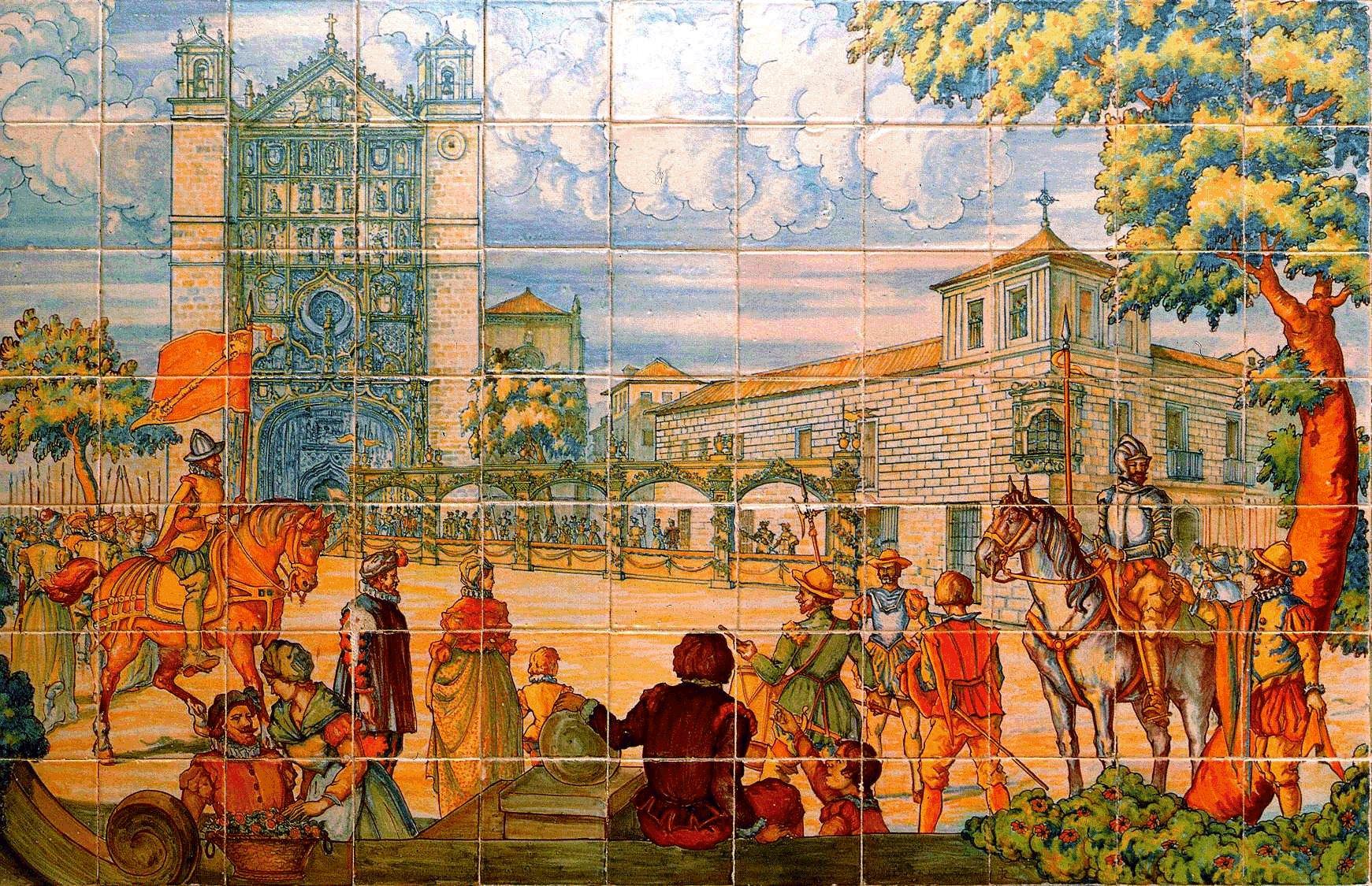 Depiction of Historia de Valladolid