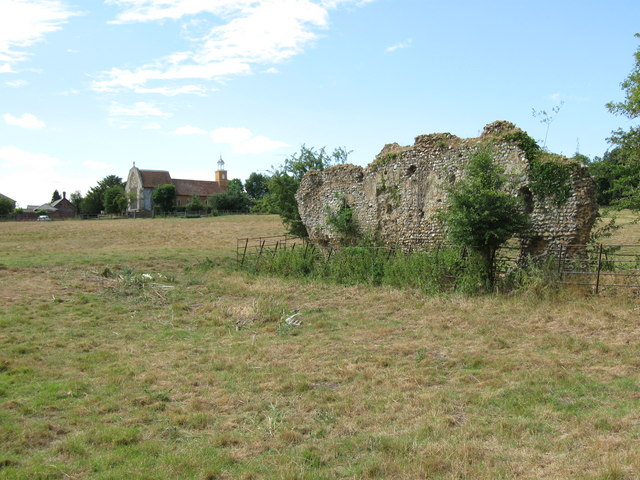 Remains of Tilty Abbey - geograph.org.uk - 1973636