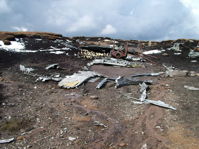 Remains of the Superfortress - geograph.org.uk - 758476