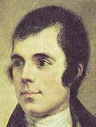 Robert Burns, preeminent Scottish poet
