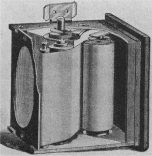 File:Roll holder mechanism in first Kodak camera.jpg
