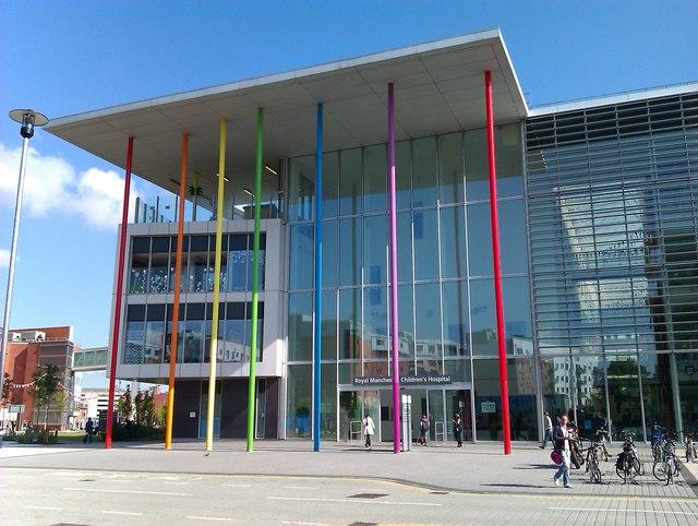 Royal Manchester Children's Hospital - Wikipedia