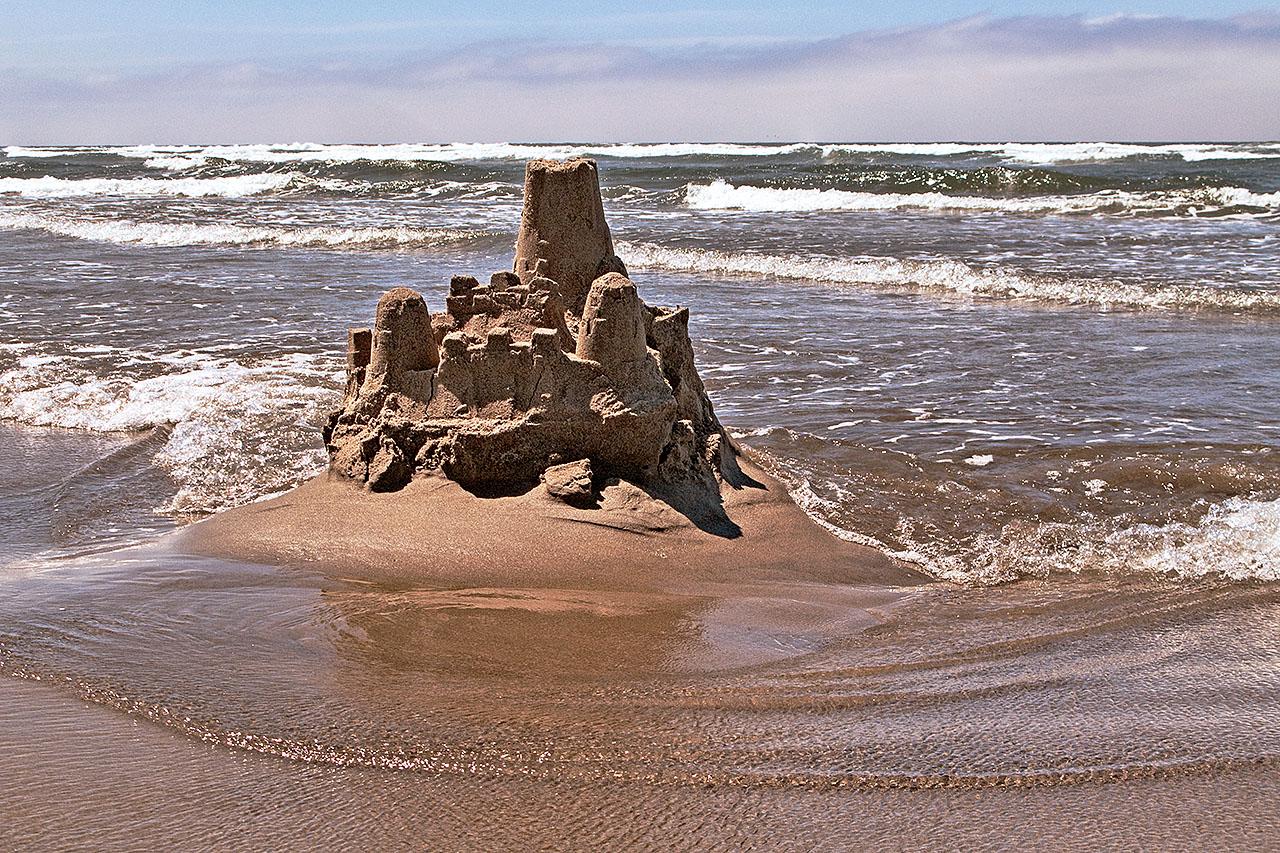 File Sand Castle Cannon Beach Jpg