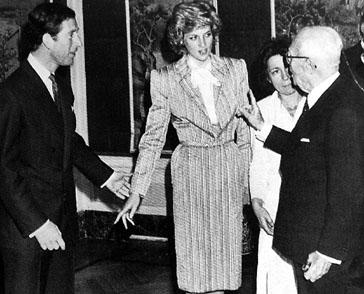 Prince Charles, Diana and Sandro Pertini, source: Presidenza della Repubblica