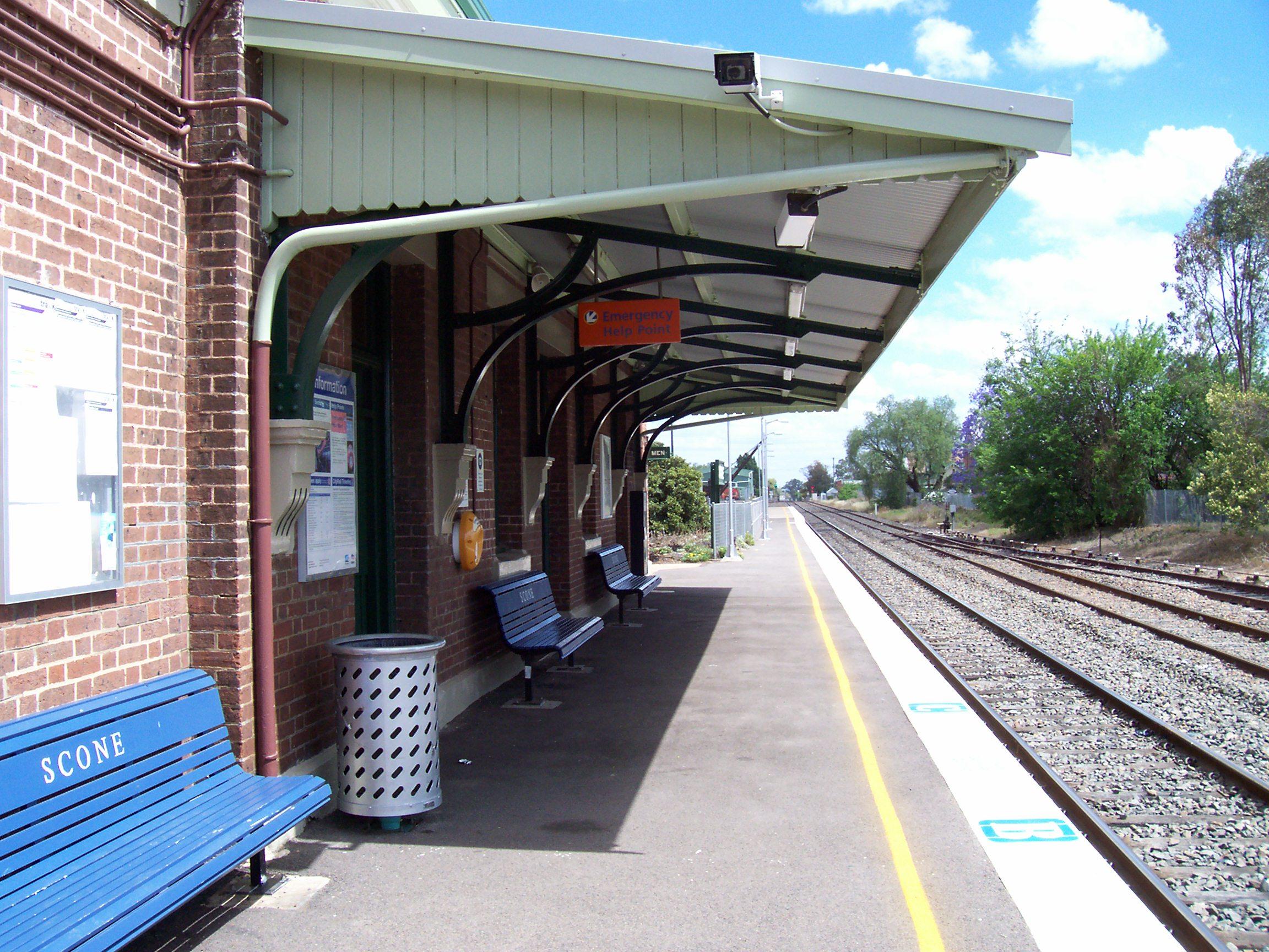 Station Building Platform