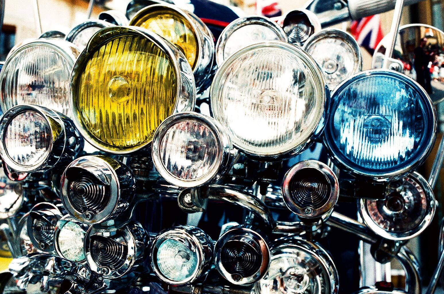 Halogen Motorcycle Headlight