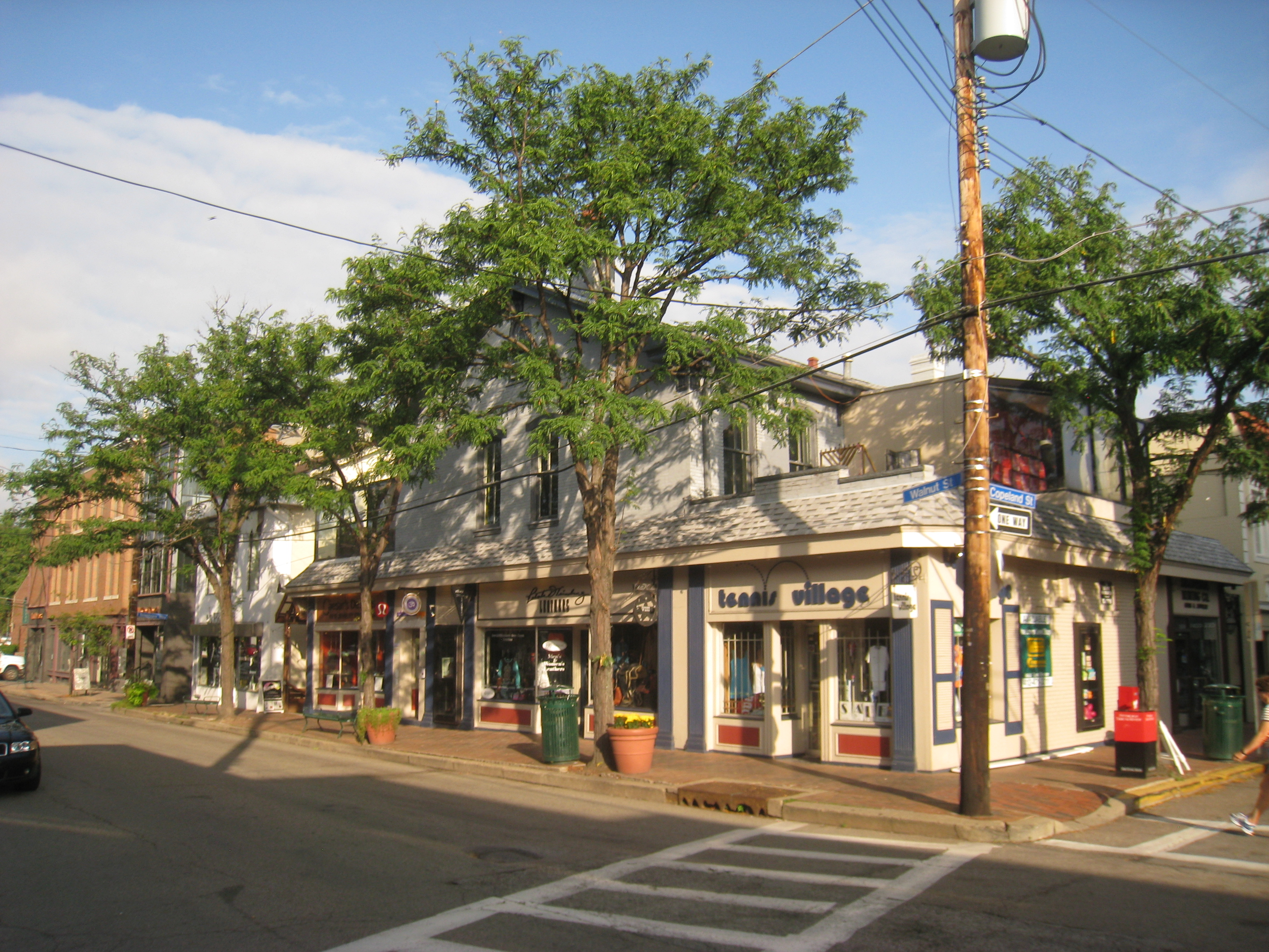 Shadyside, where boutiques, shops and galleries mingle with national retailers in a neighborhood of tree-lined streets, historic homes, hip events and distinctive restaurants. Share And most everything is .