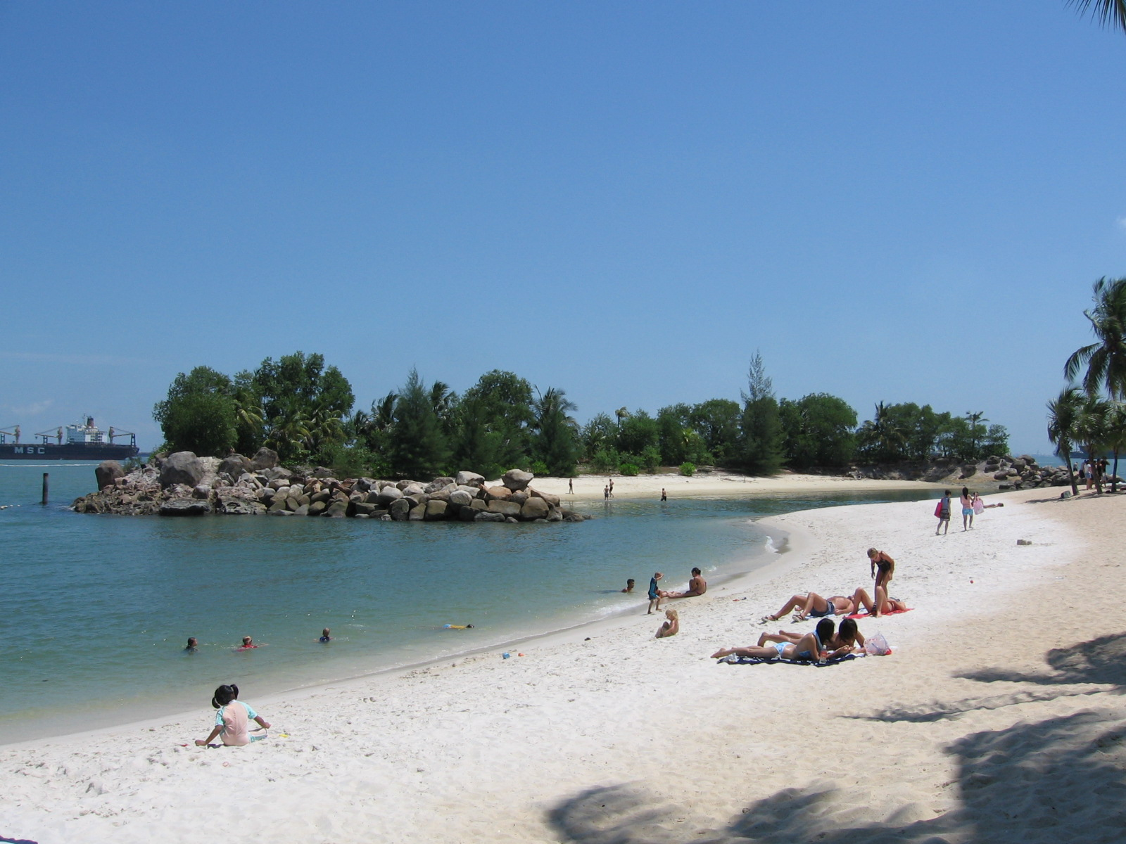 A Perfect Holiday and Family Vacation on Siloso Beach, Singapore