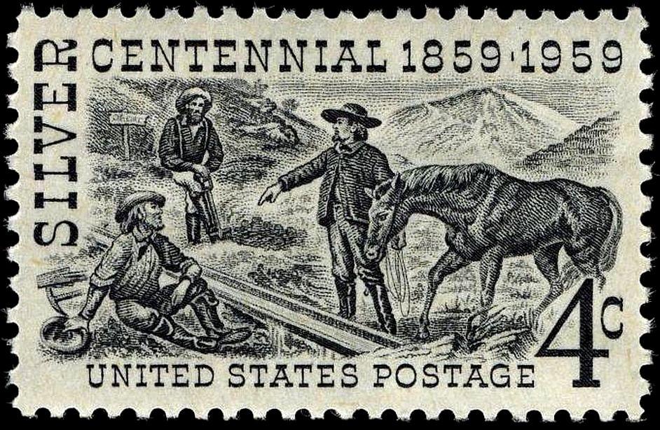 FileSilver Centennial Stamp 4c 1959 IssueJPG