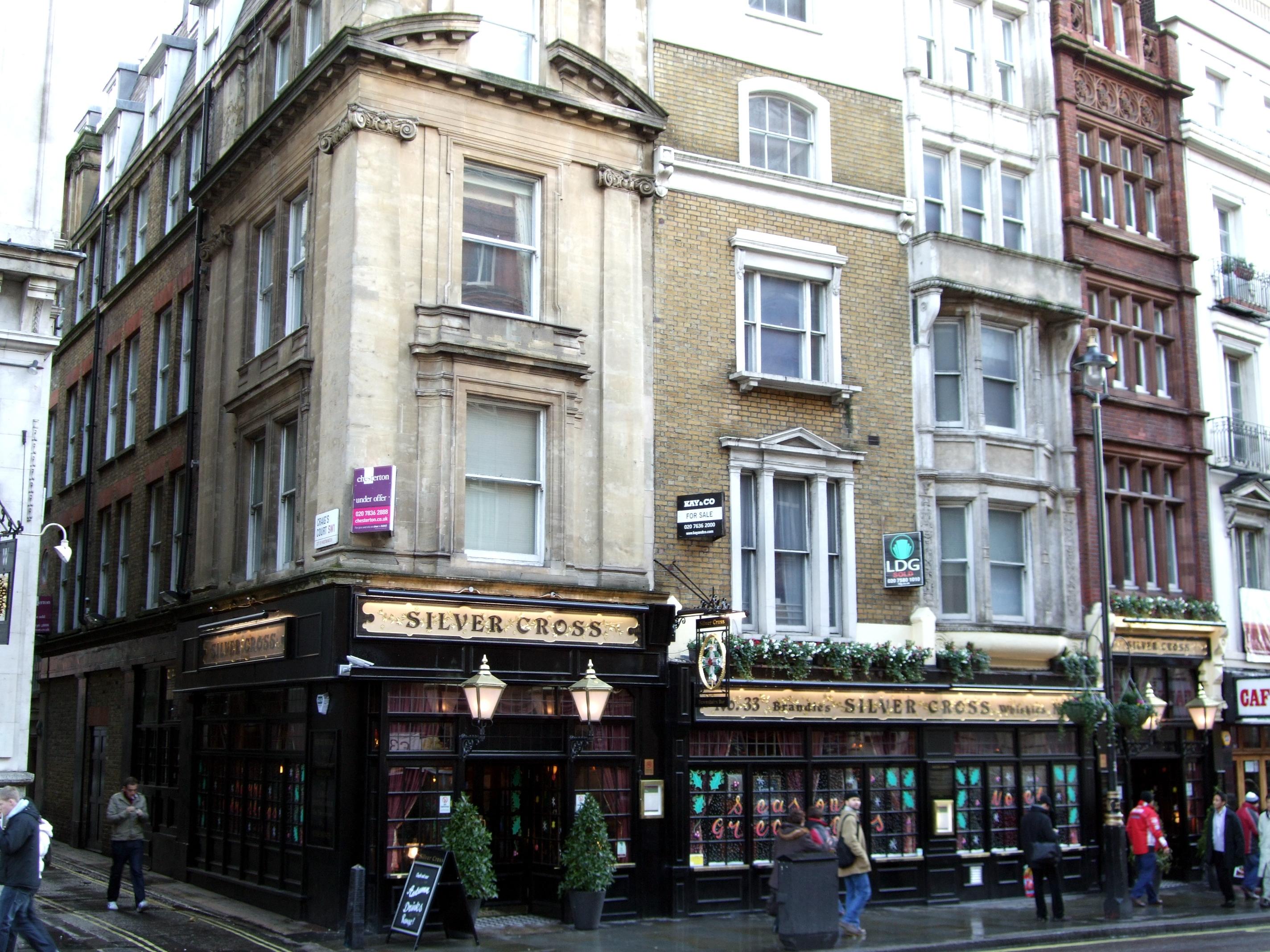 Silver Cross Tavern Wikipedia