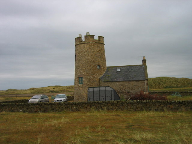 Snook Tower, Holy Island - geograph.org.uk - 216561