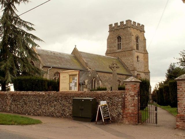 Fornham St Martin