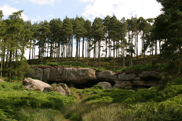 St Cuthbert's Cave - geograph.org.uk - 93124